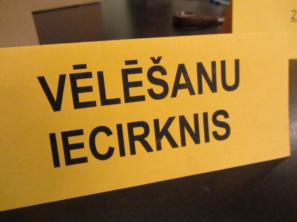 За три дня до выборов Сейма на 58 избирательных участках можно будет сдать свой голос на хранение