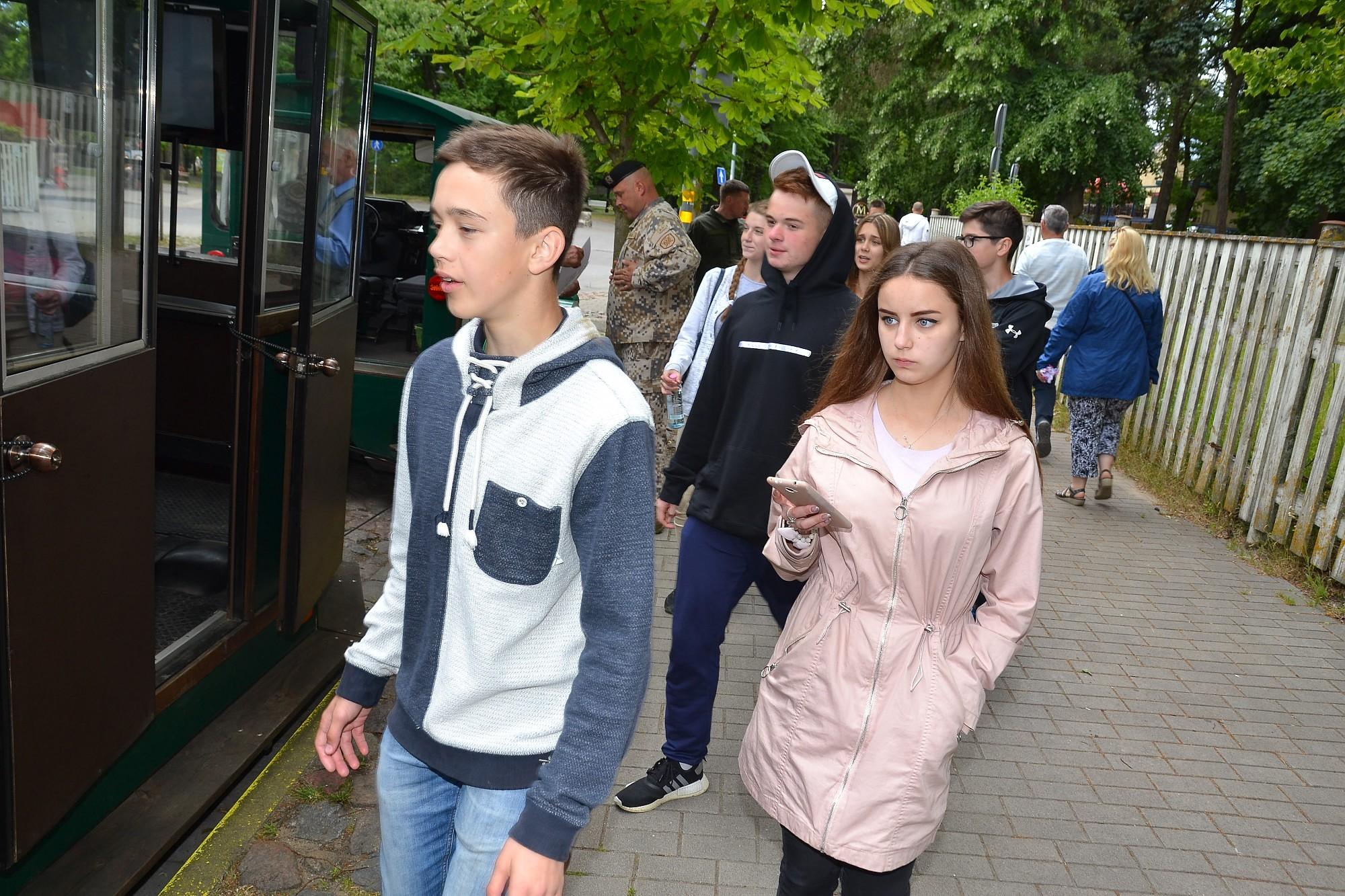 Дети украинских военных гостили в Лиепае