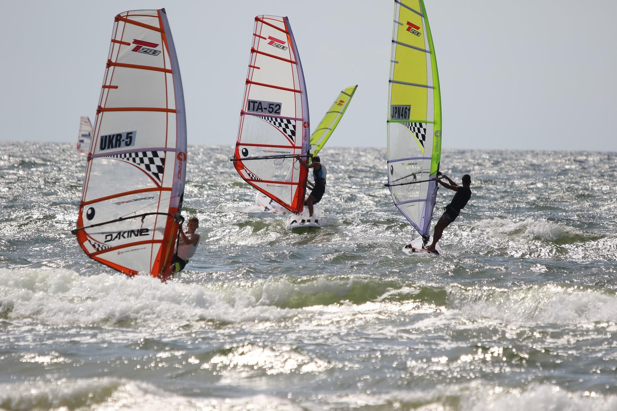 В лиепайских водах проведены первые дни соревнований
