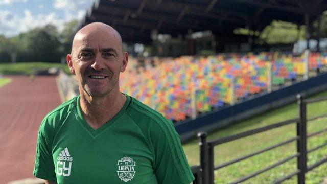 Главным тренером «Лиепая/Мого» стал шотландец Гордон Янг