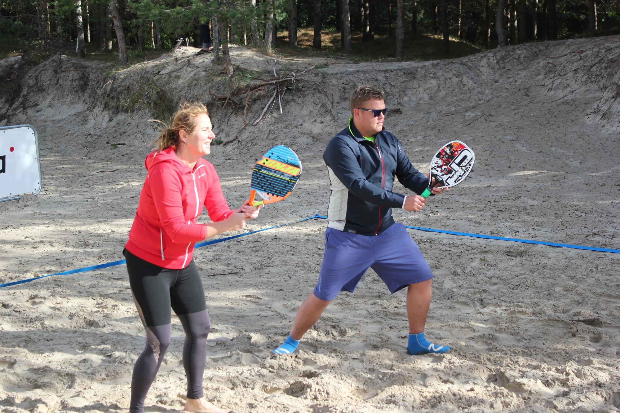 Завершился чемпионат по пляжному теннису