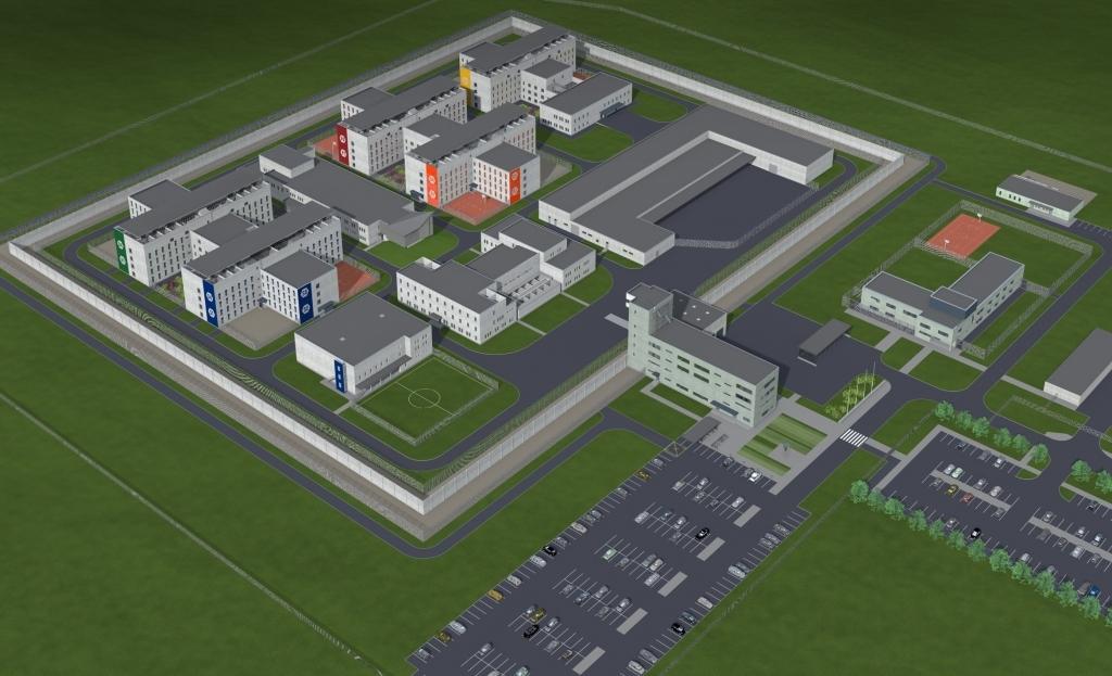 Объявлен повторный открытый конкурс на перепроектирование и строительство Лиепайской тюрьмы