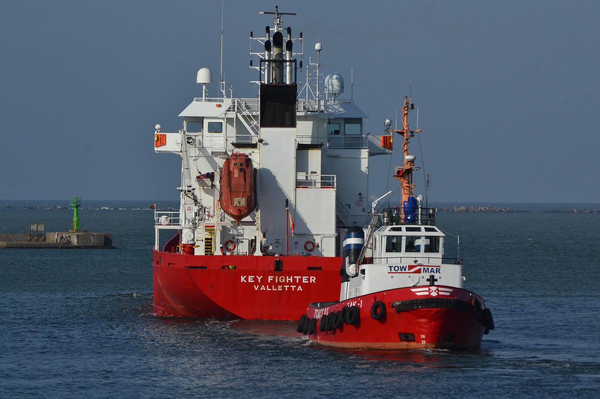 В порту за девять месяцев перевалено на 16,2% грузов больше