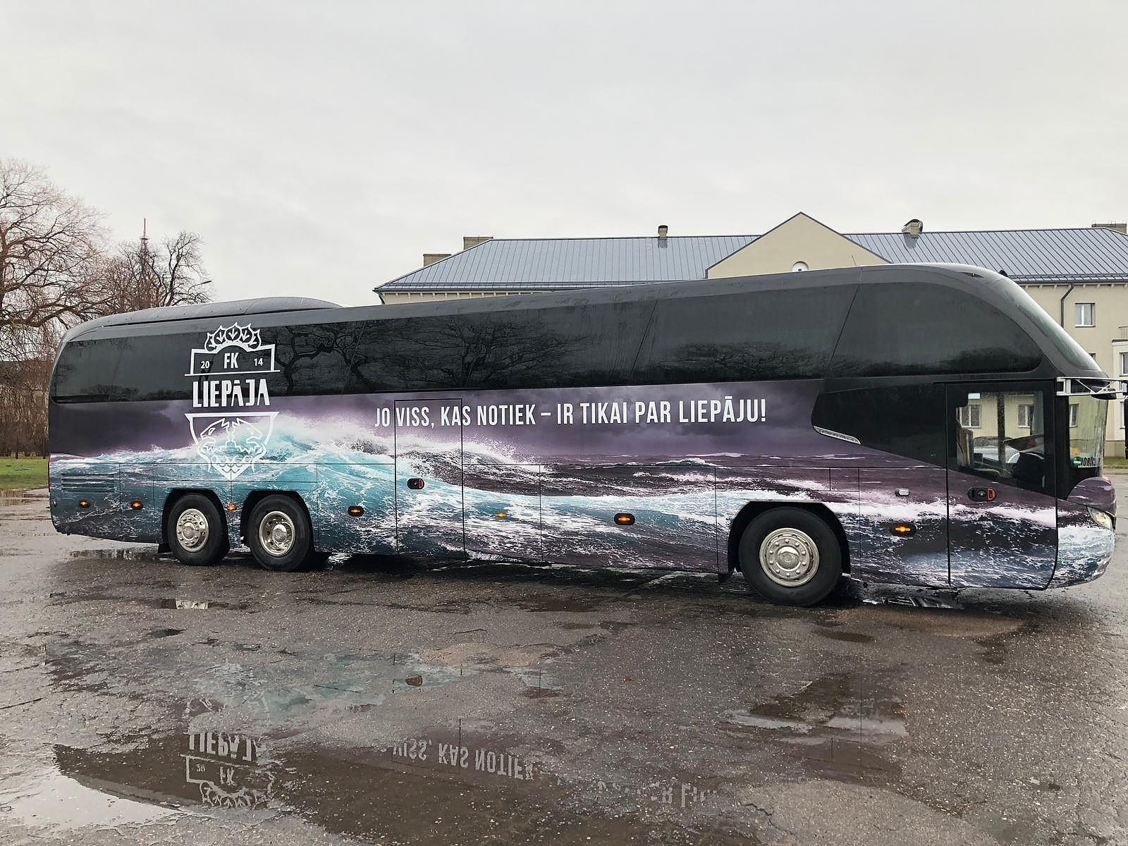 ФК «Лиепая» приводит в порядок медицину и транспорт