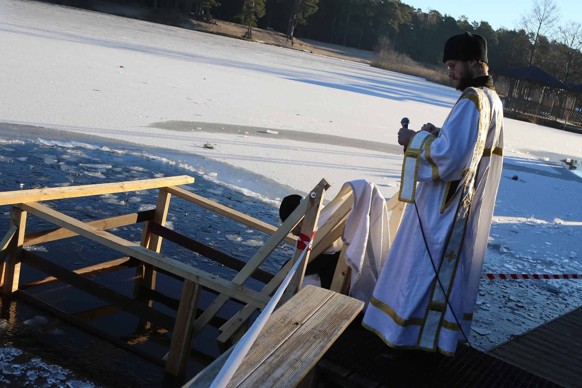 Православные отпраздновали праздник Крещения