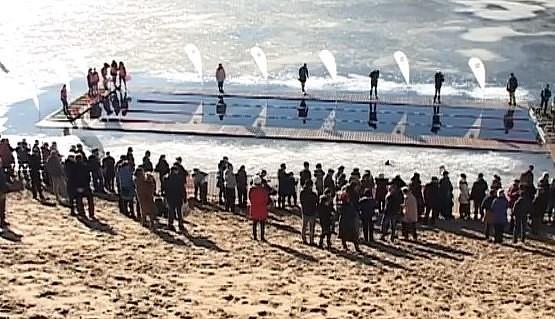 В Лиепае состоится чемпионат по зимнему плаванию