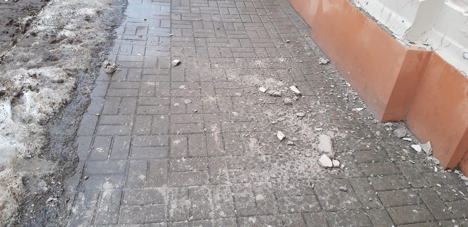Оттепель указала на слабые места зданий