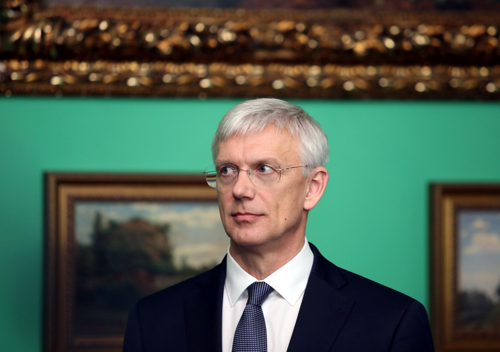 Кариньш объявил о «капитальном ремонте» всего финансового сектора