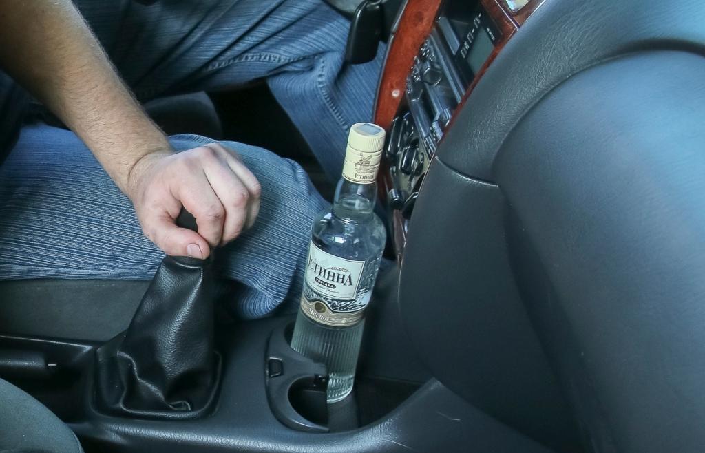 В прошлом году было задержано меньше пьяных водителей
