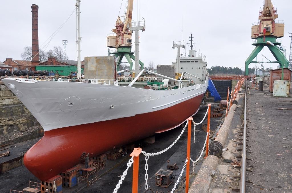 Судоремонтный завод «Тосмарес кугюбуветава» выставлен на продажу за 2,163 млн евро