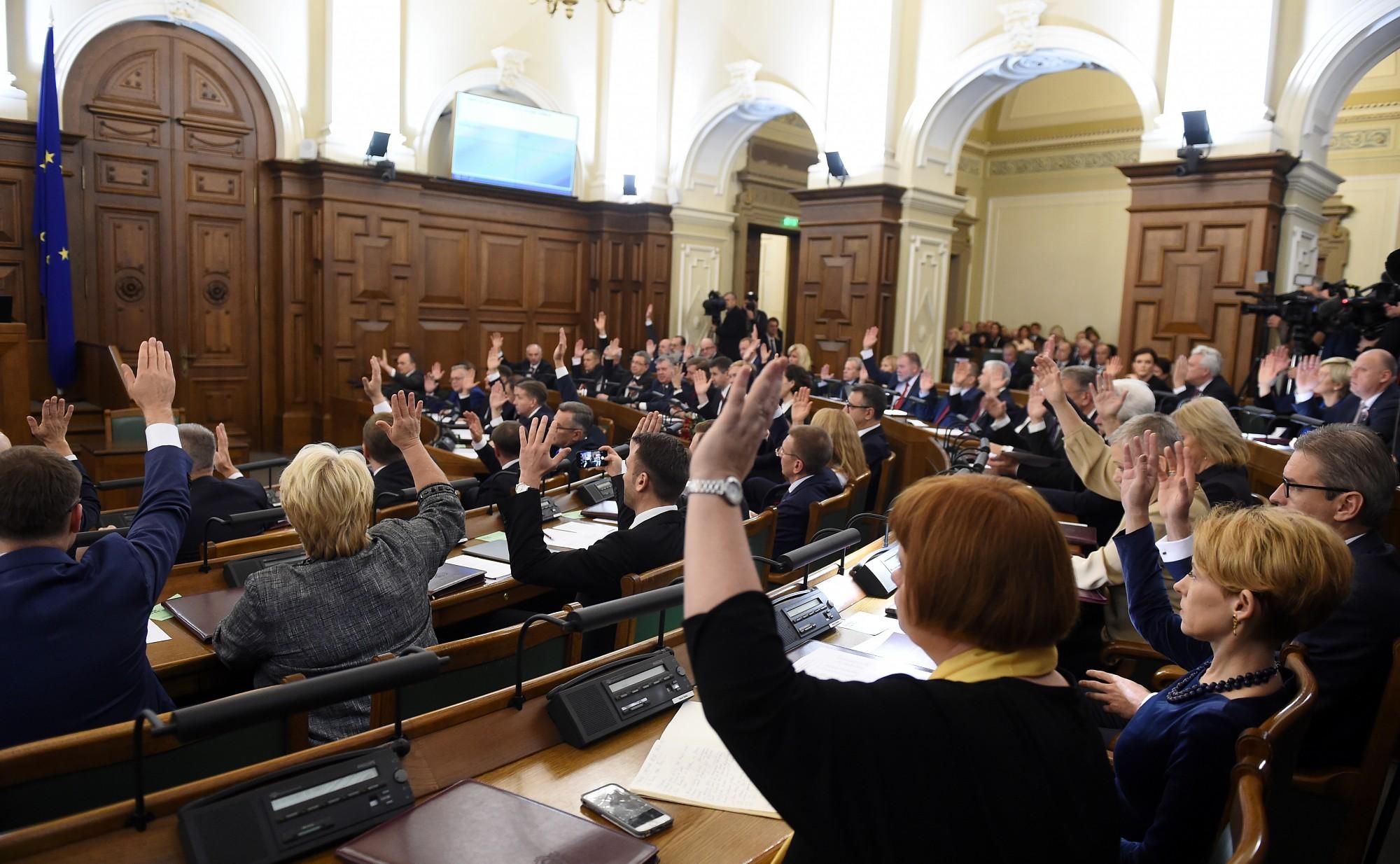 Сейм отклонил предложение сократить количество министерств