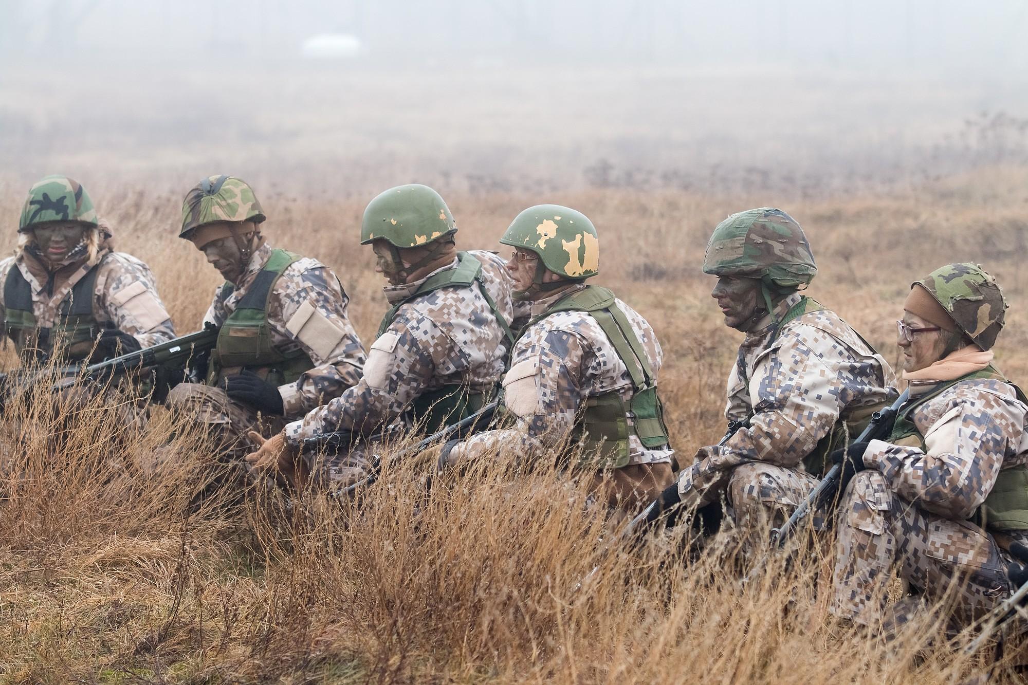 В воскресенье в Военном городке пройдут учения Земессардзе