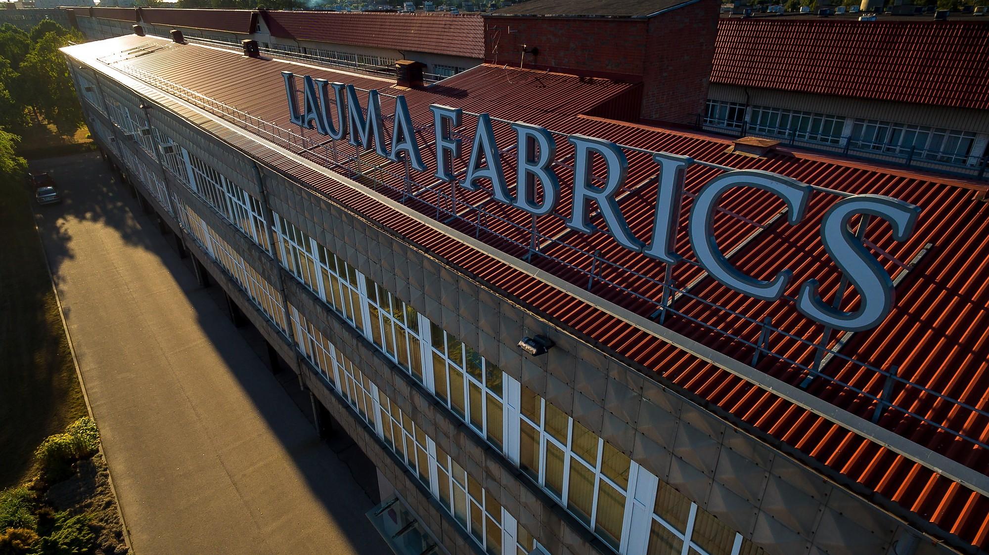 Прибыль «Lauma Fabrics» в прошлом году составила 3,46 млн евро