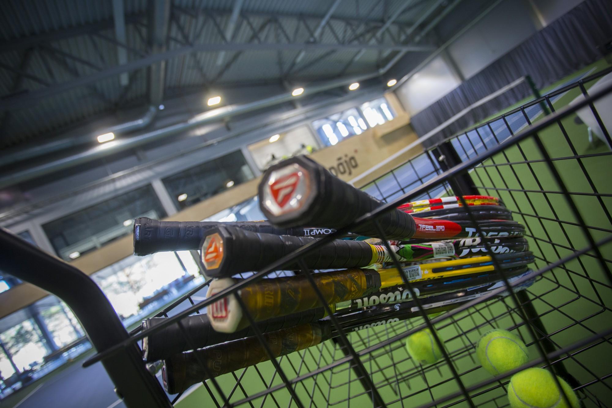 В Лиепае открыли крупный теннисный центр, построенный за 7,5 миллиона евро