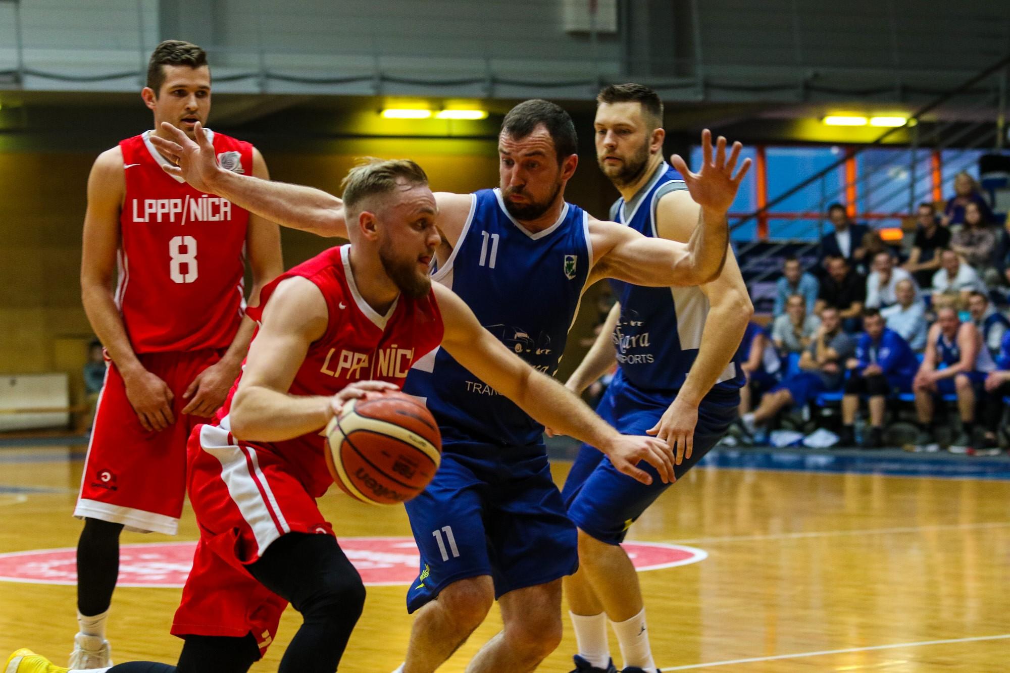 """LPPP/Ница"" и ""Kempings ODS"" стали чемпионами города по баскетболу"