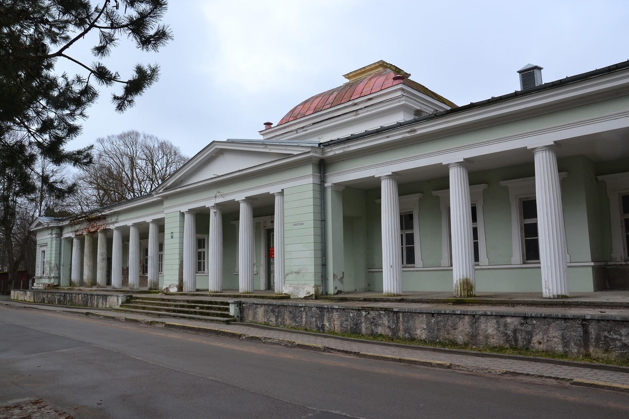Дополнено – Потребуют законсервировать здание бывшего санатория