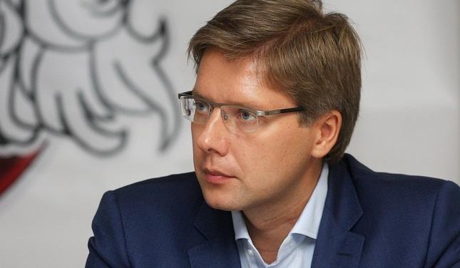 Пуце отстранил Ушакова от обязанностей председателя Рижской думы
