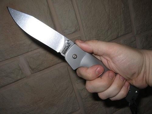 Конфликты решают при помощи ножей