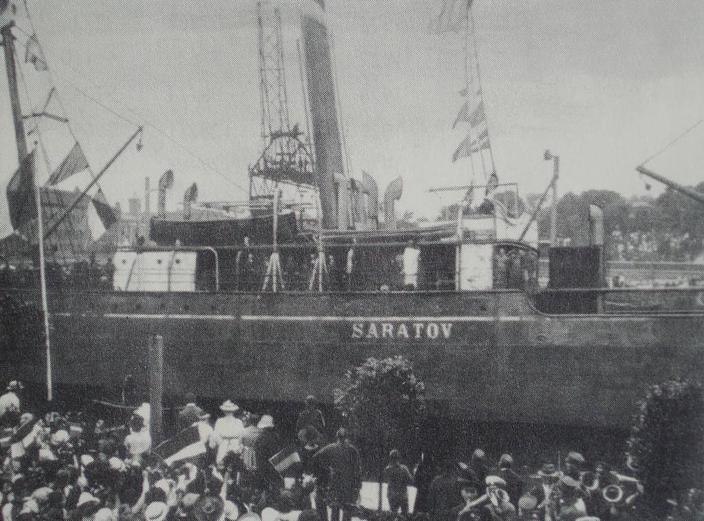 """В реконструкции ожидания корабля """"Саратов"""" участие примут несколько сотен лиепайчан"""
