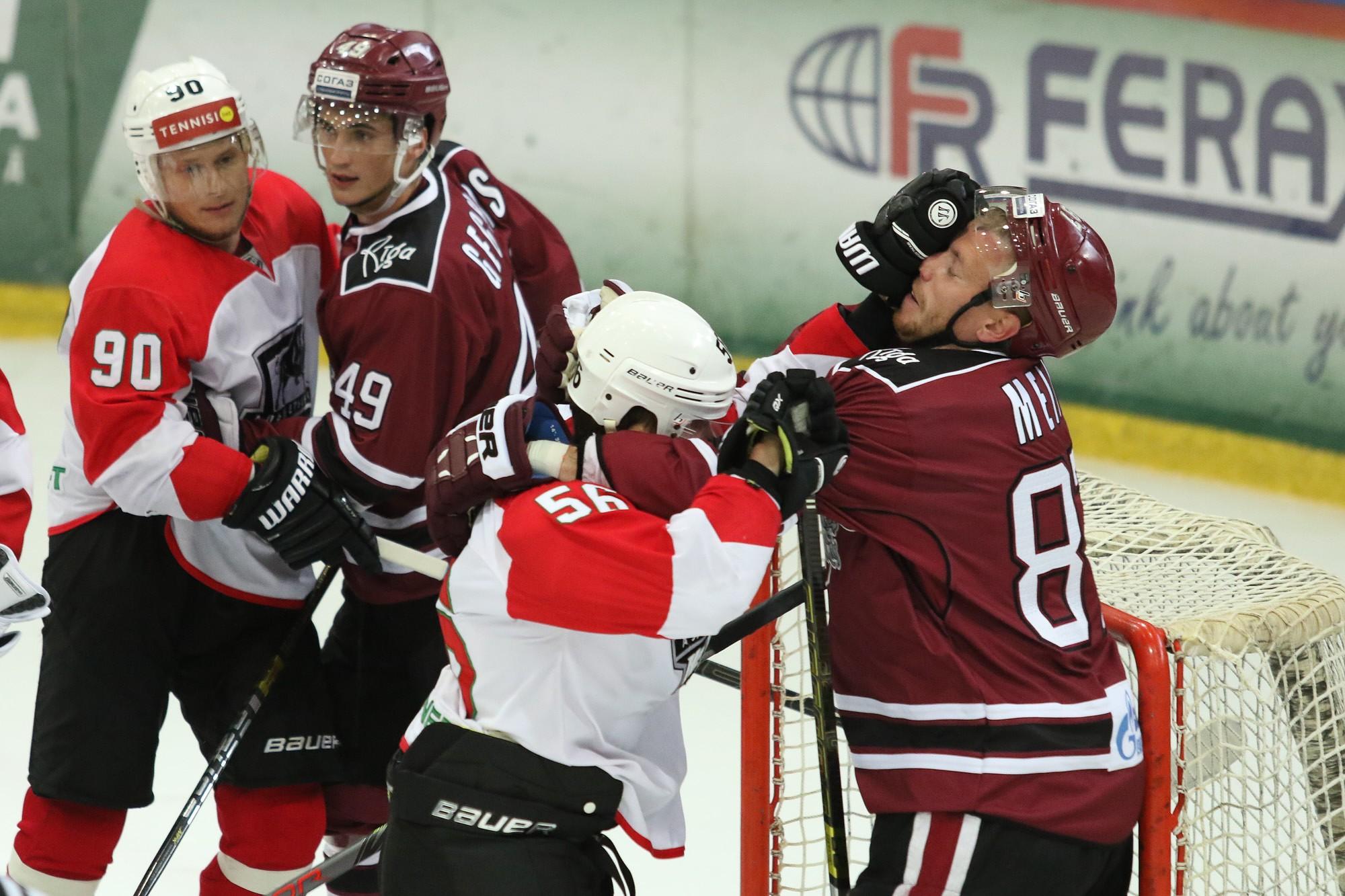 Рижское «Динамо» к сезону готовится в Лиепае