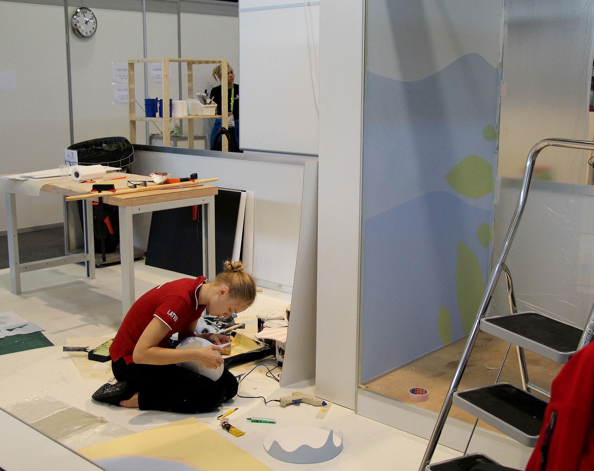 "На международном конкурсе ""WorldSkills 2019"" – и лиепайчанка"