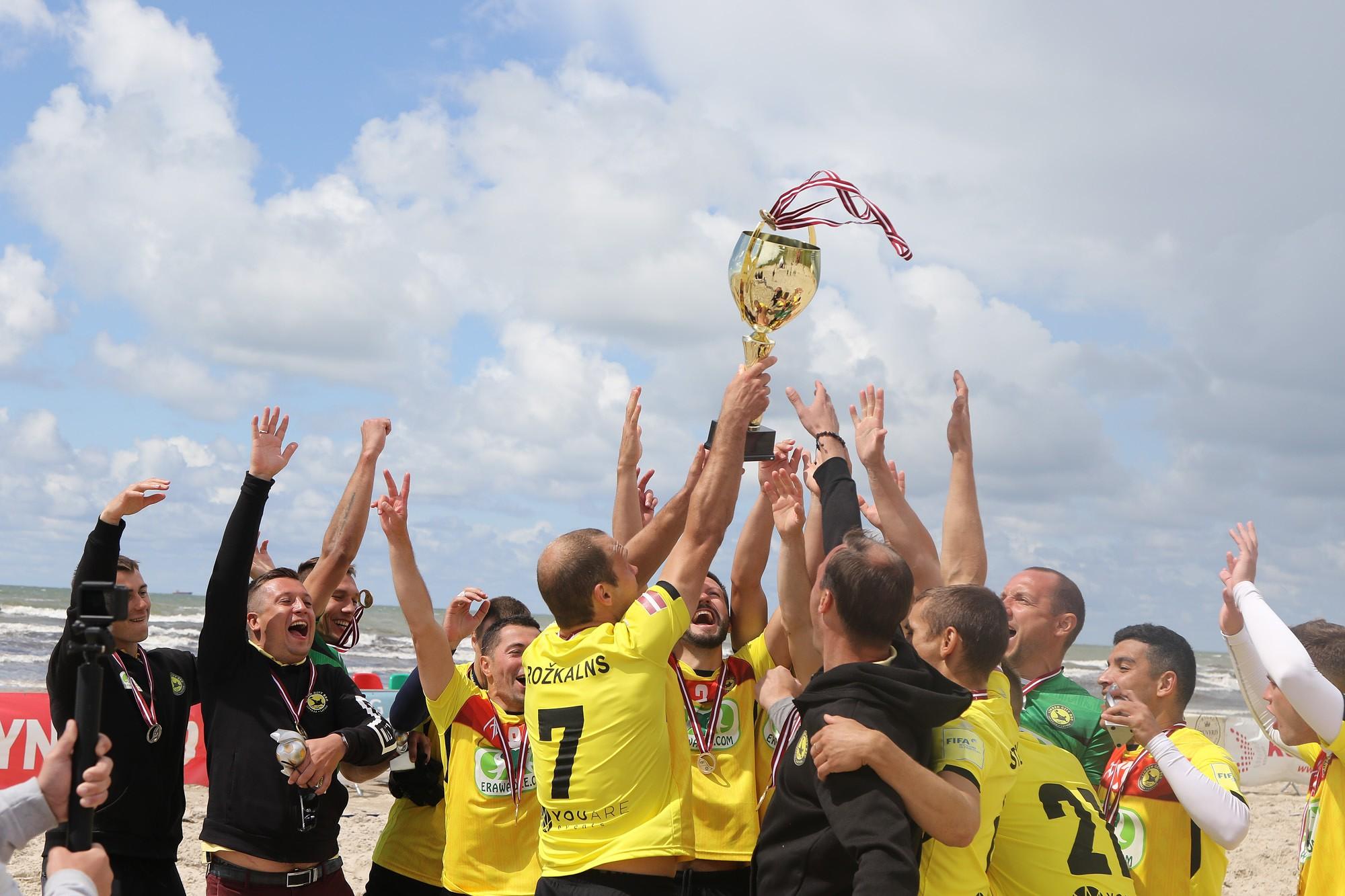 Кубок Латвии взяла лиепайская команда