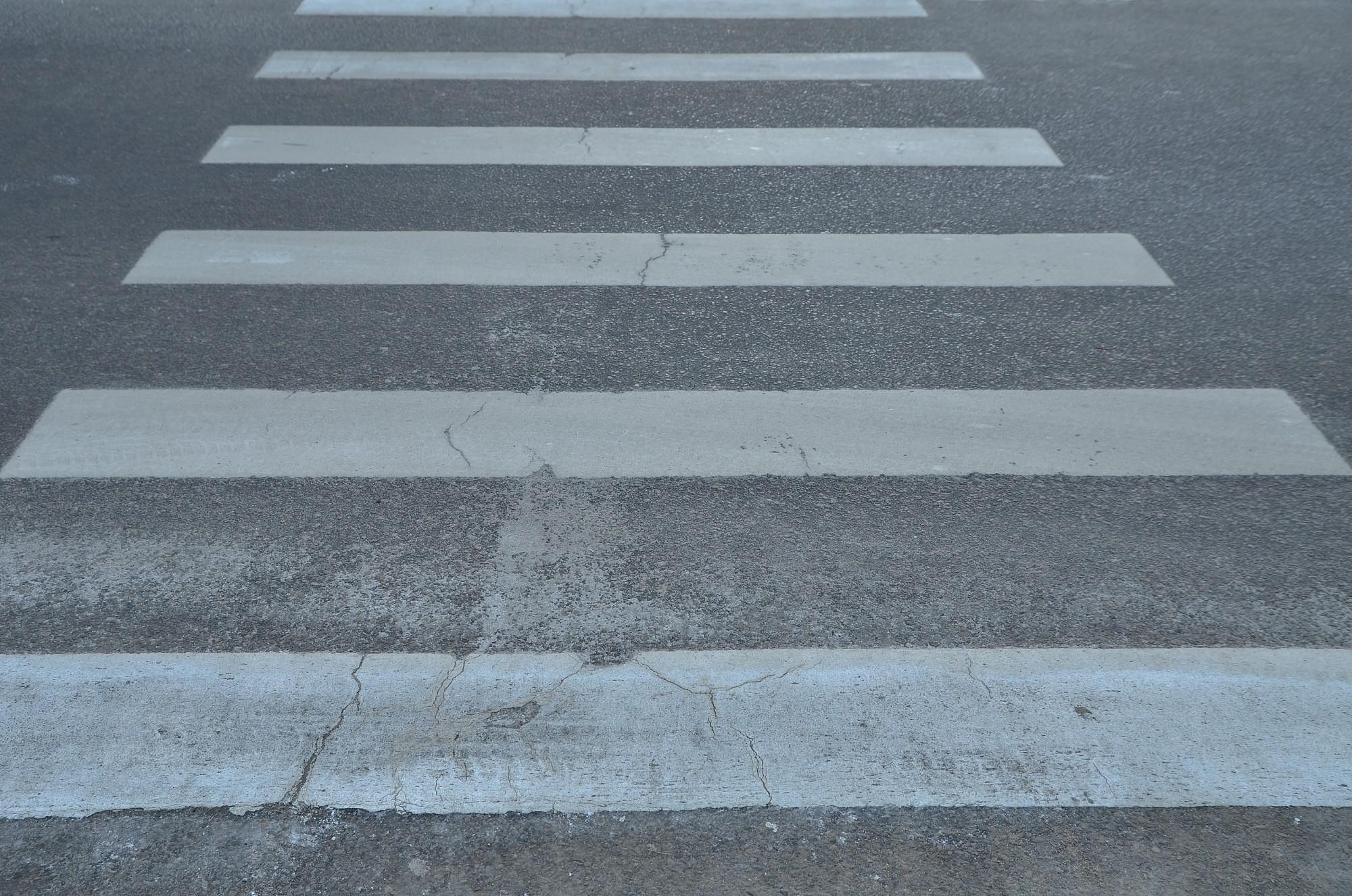 На пешеходном переходе сбил велосипедиста