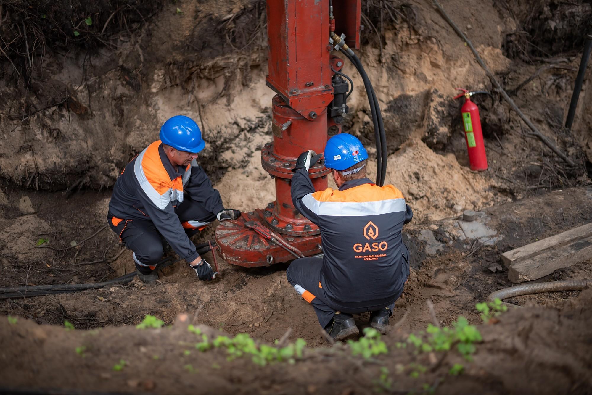 На улицах Лиепаи ремонтируют газопроводы
