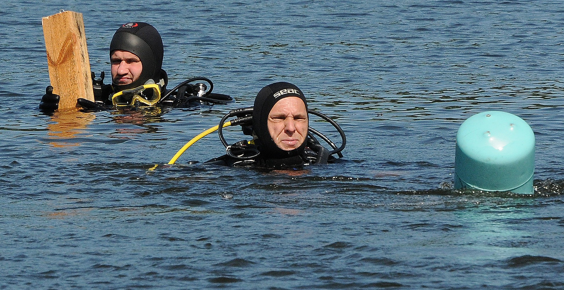 На соревнованиях спасателей и водолазов победу завоевала команда бригады Курземского региона