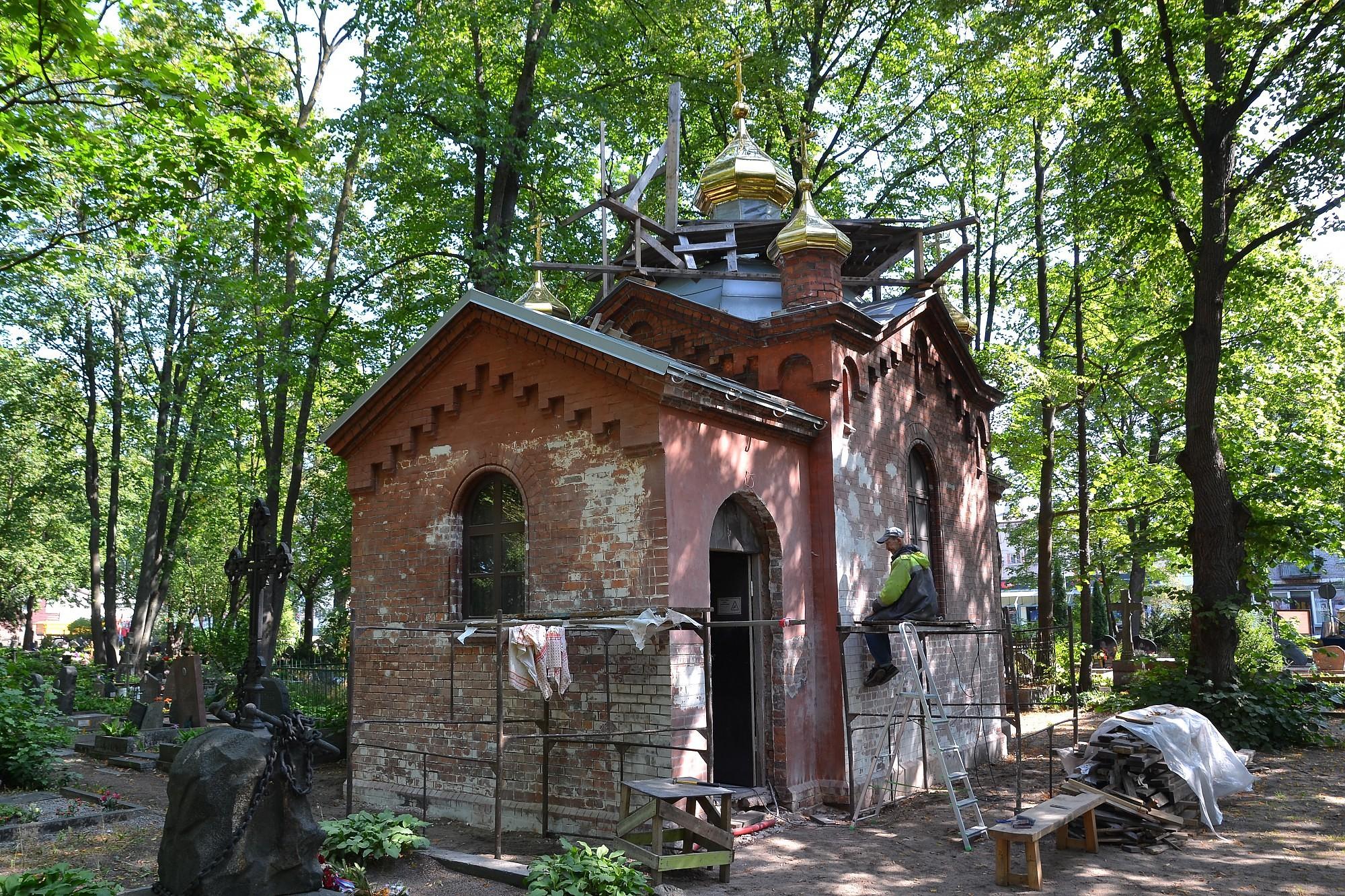 Возрождается церковь свт. Петра