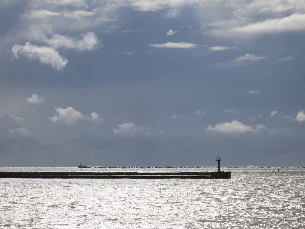 Температура воды в море у Лиепаи все еще достигает +18 градусов