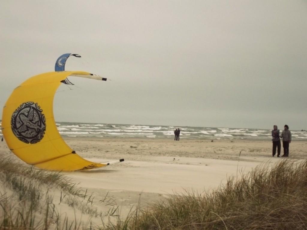 В Лиепае прогнозируются порывы ветра до 22 метров в секунду