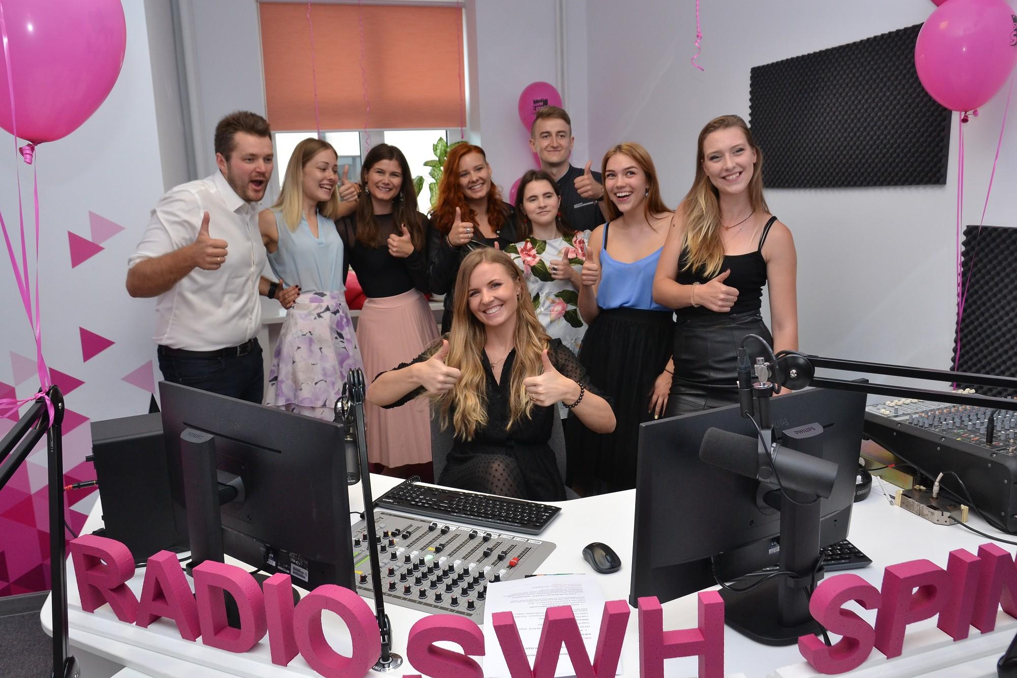 Открылась Лиепайская студенческая радиостудия