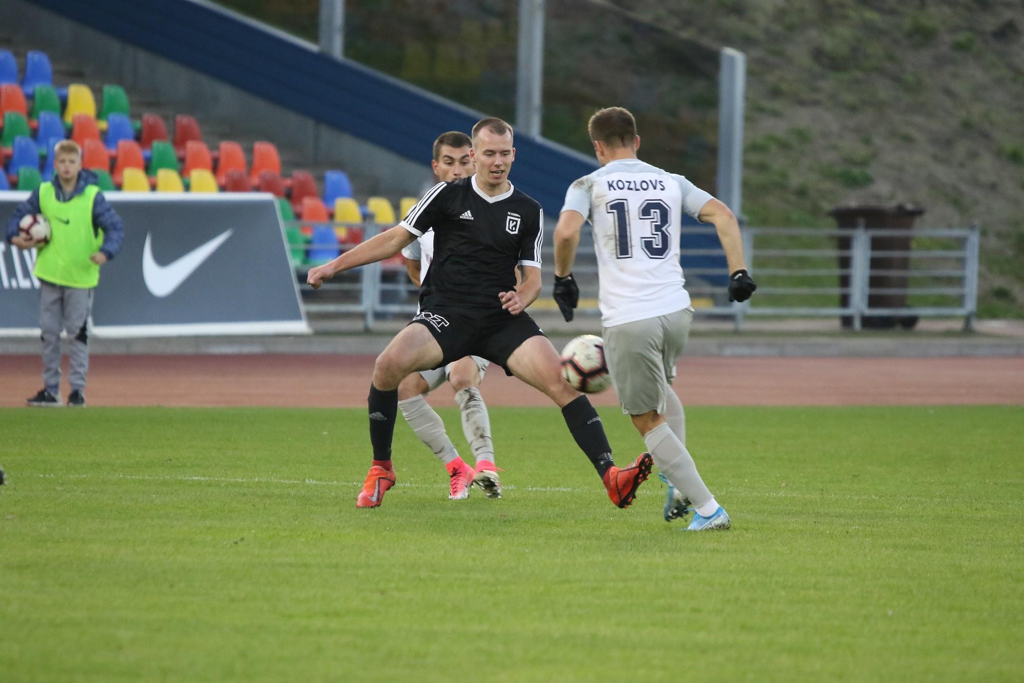 В Кубке Латвии «Кароста» уступила «Елгаве»
