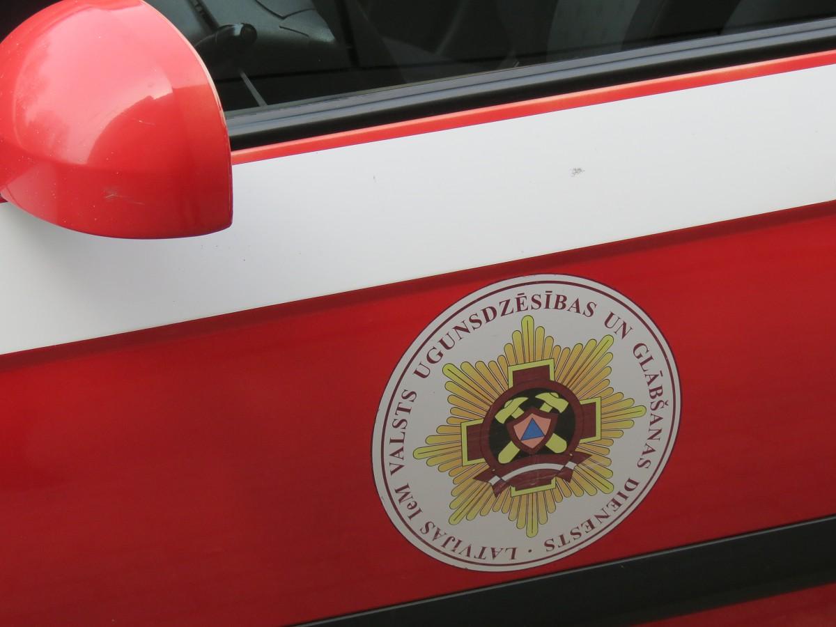 При пожаре пострадал человек