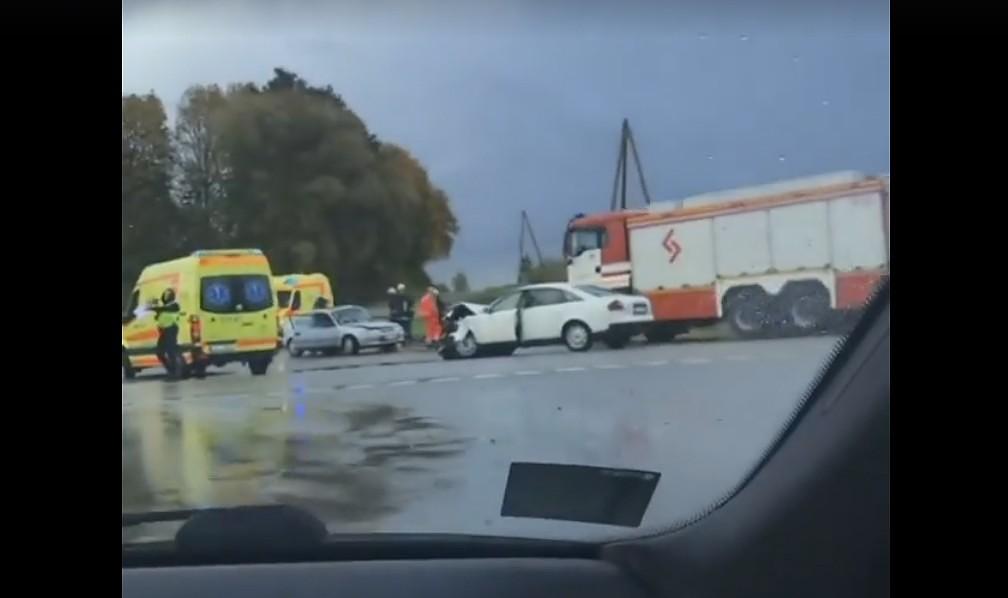 В Медзской волости в столкновении двух автомашин погасла жизнь