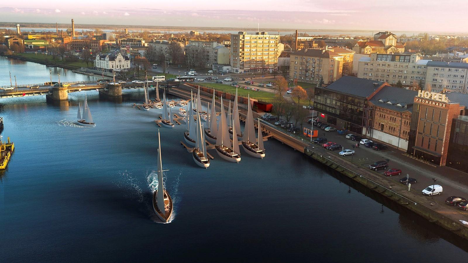 Снова объявят закупку на модернизацию яхтенного порта Лиепаи