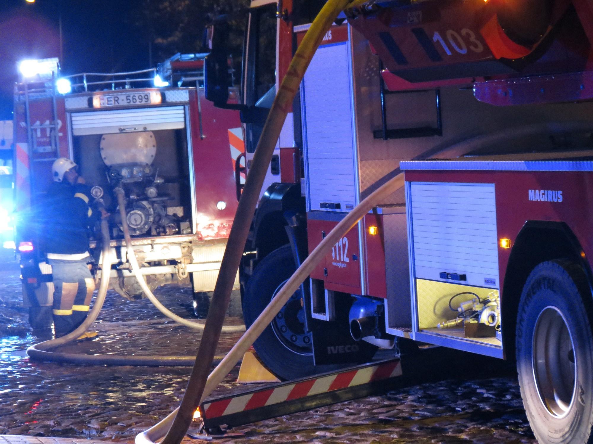 При пожаре в Доме престарелых пострадал человек, 54 эвакуировано