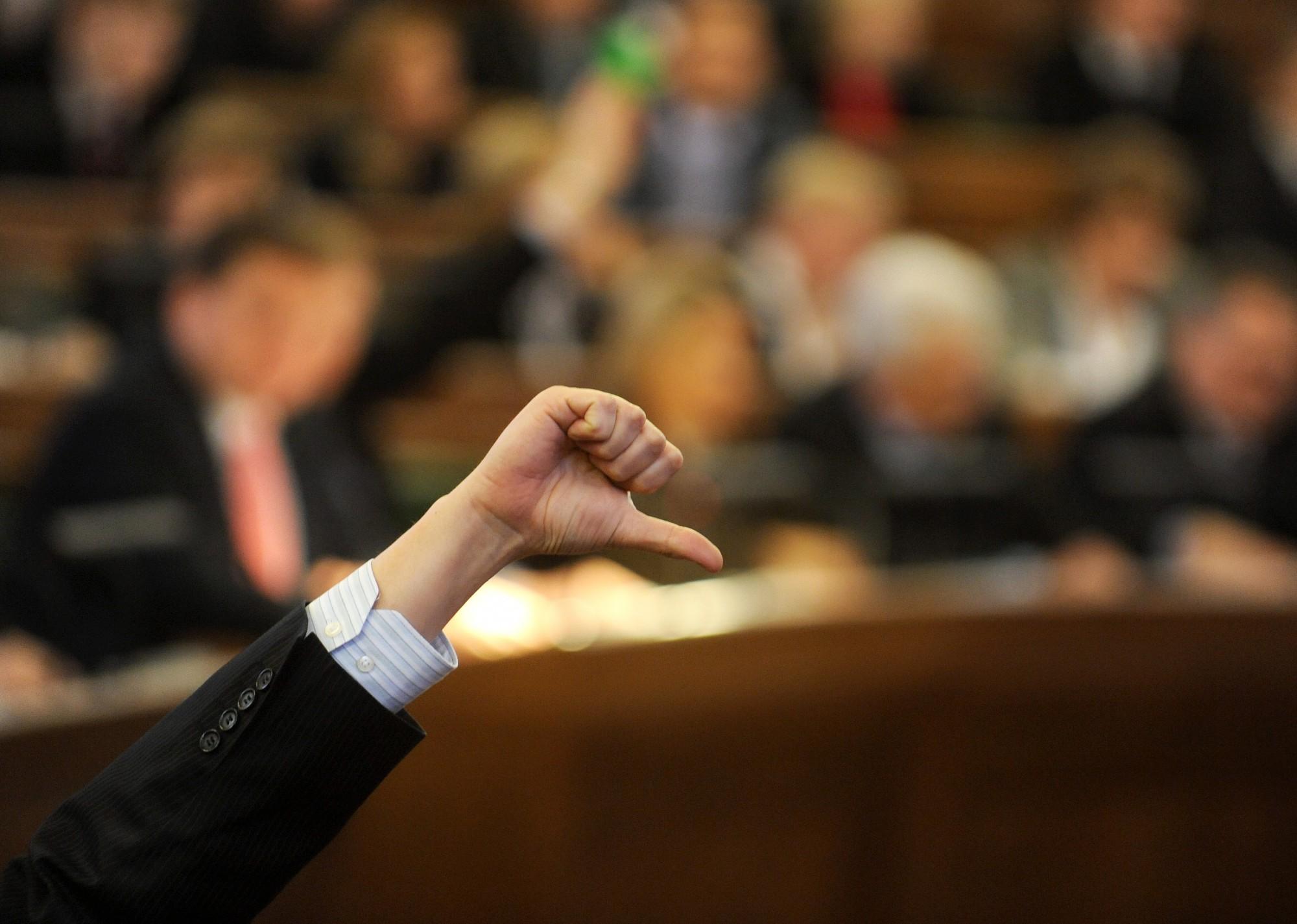 Правительство отклонило все предложения оппозиции по проекту бюджета на 2020 год