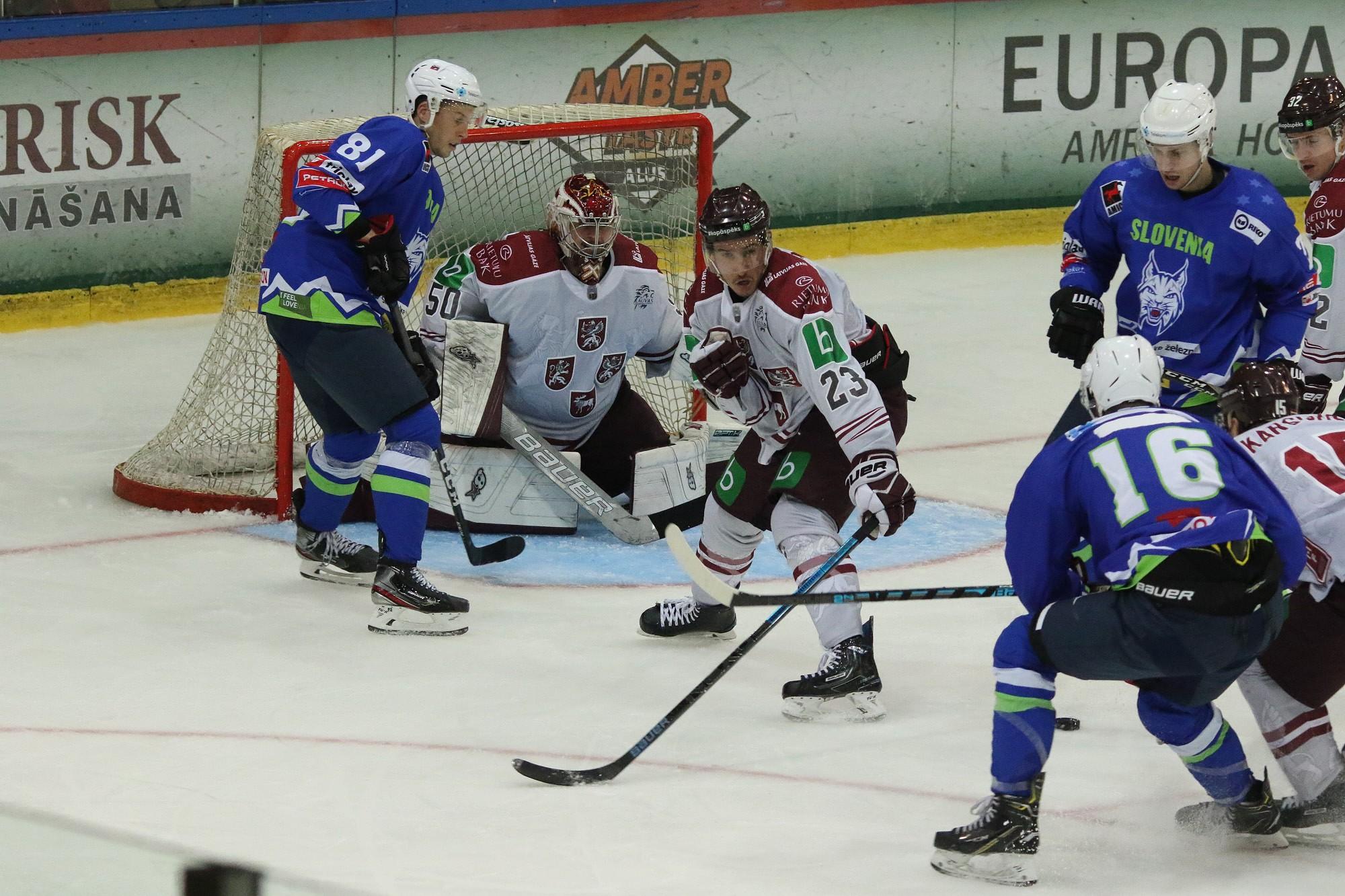 Сборная Латвии турнир в Лиепае начала с победы