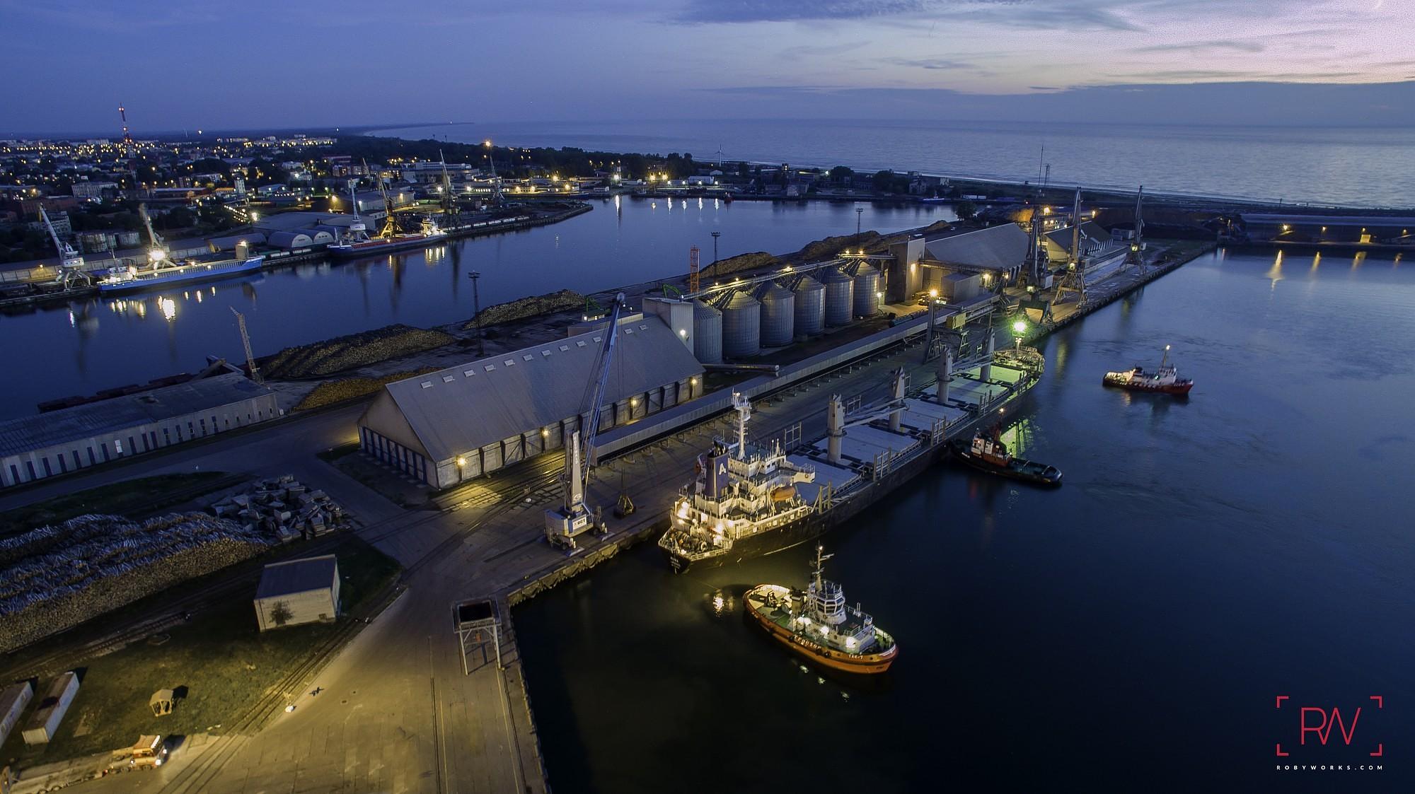Лиепайский порт может облегченно вздохнуть