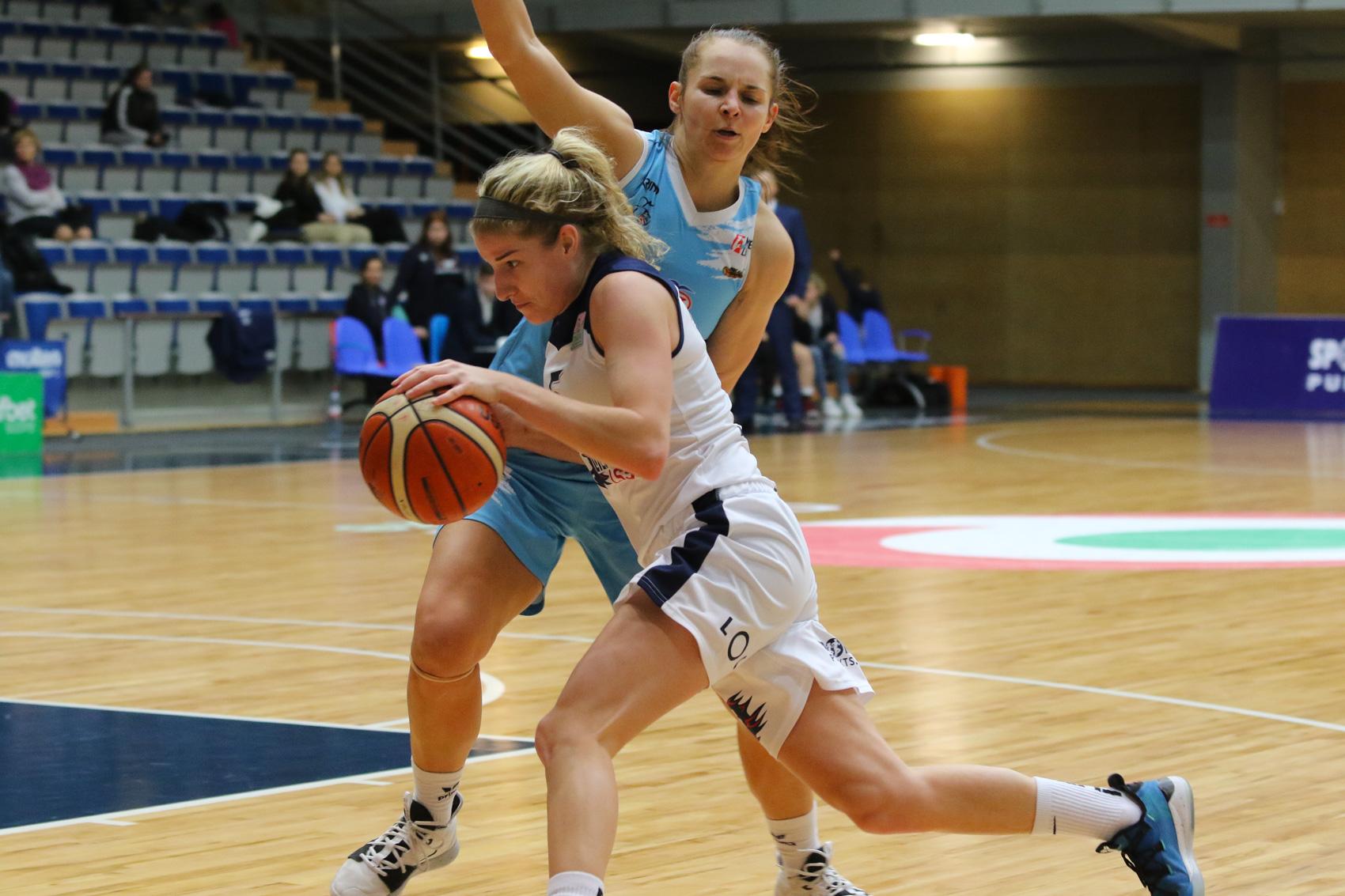 «Лиепая» уступила баскетболисткам из Вильнюса