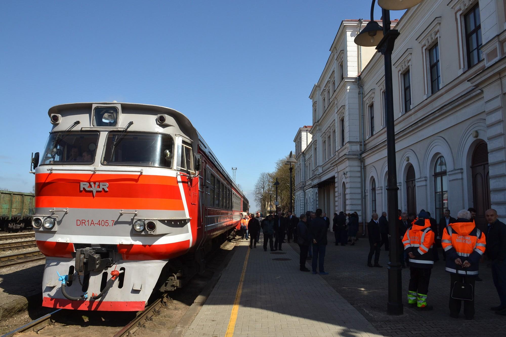 Часть железнодорожников Лиепаи потеряет работу