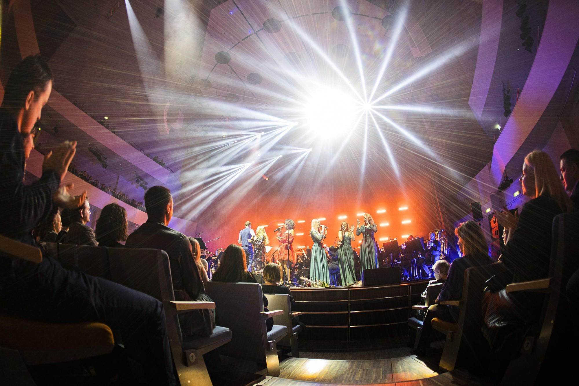 Прозвучали красочные концерты Старого года