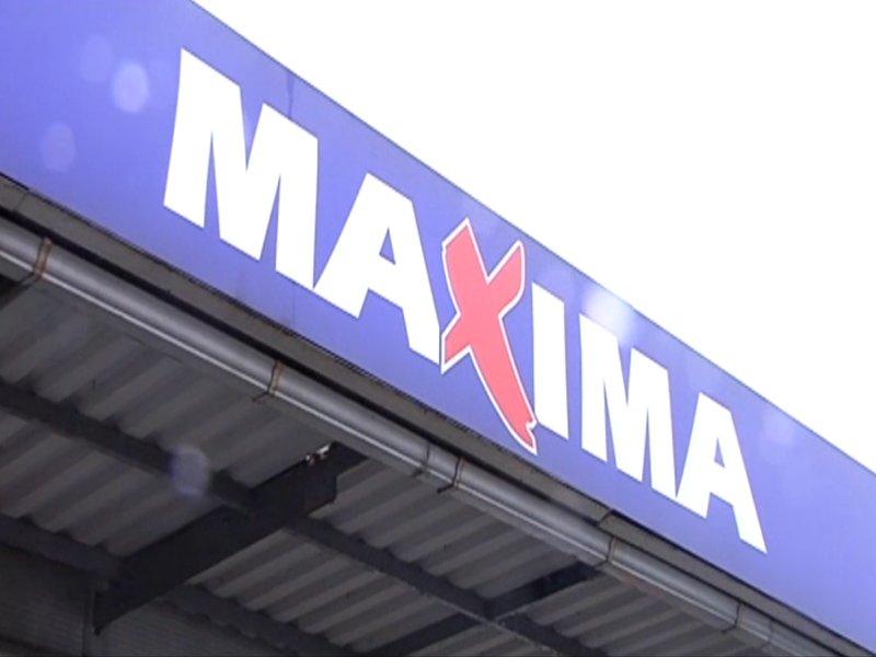 Магазин «Maxima» на ул.Цукура будет закрыт до апреля