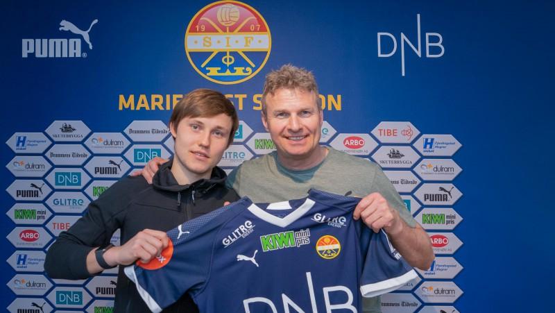 Янис Икауниекс подписал контракт с норвежским клубом