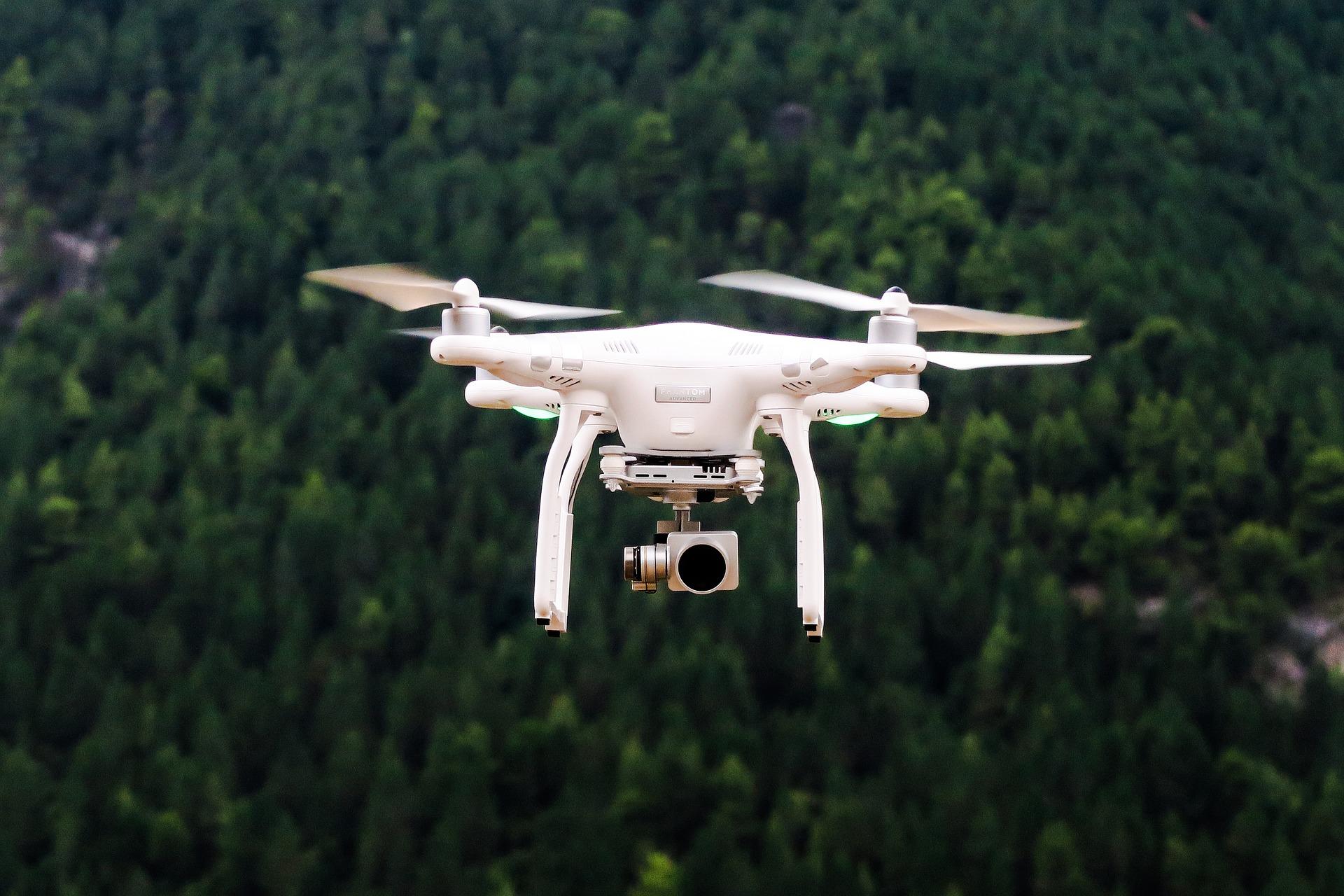 Начато дело об административном правонарушении в связи с полетом дрона вблизи взлетной полосы Лиепайского аэропорта