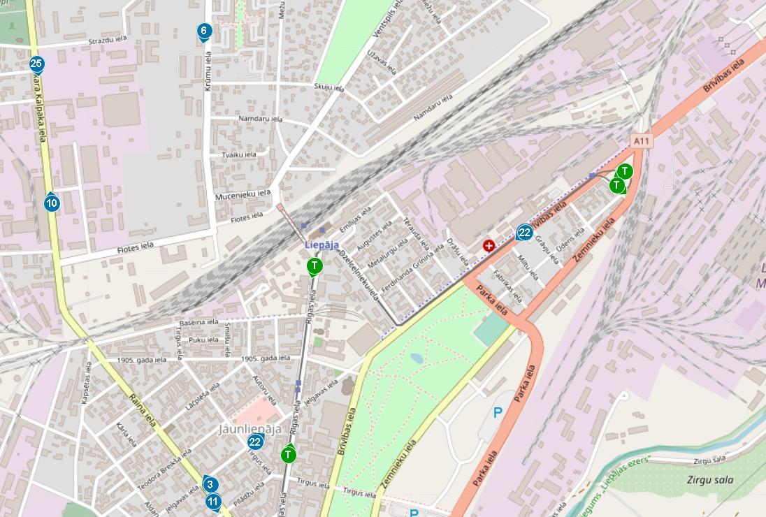 Восстановлена возможность следить за движением городского общественного транспорта