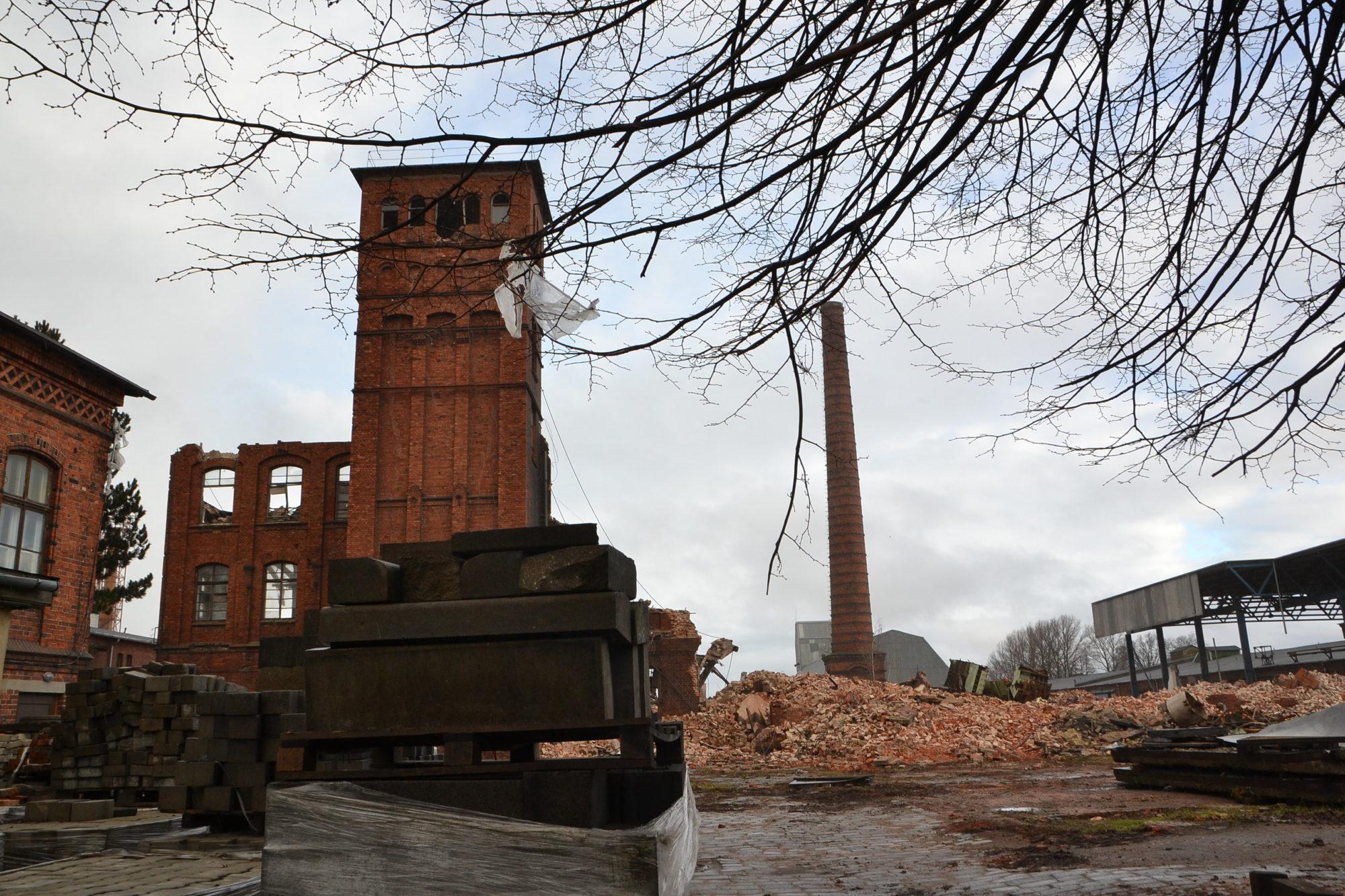 Там, где было искусство Берчи, будут строить склады