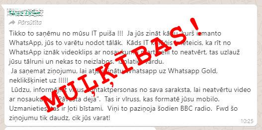 Пользователи «WhatsApp» делятся подозрительной цепью писем